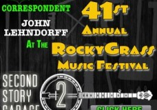Second Story Garage to send correspondent to 41st Annual RockyGrass Festival