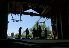 Front Country performs July 27 at the Rockygrass Festival in Lyons, Colorado. (Photo by John Lehndorff)