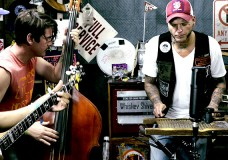 Whiskey Shivers perform 'Swarm'