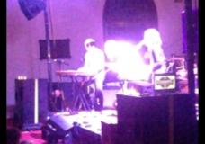 Colorado band Tennis played St. David's Episcopal Church during SXSW 2014.