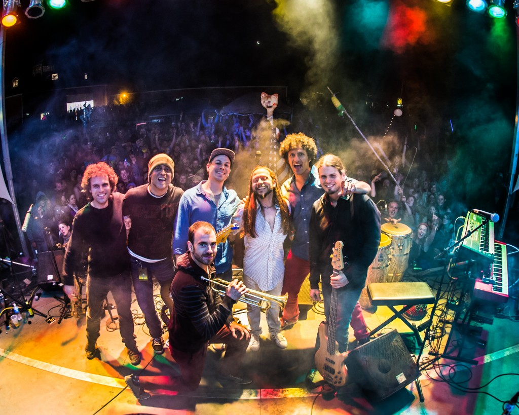 The Motet, shown on the Summer Camp Music Festival stage in Chillicothe, Ill., in May, will play Red Rocks on July 5. (Spady Photography / Courtesy photo)