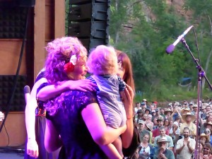 Uncle Earl performs a reunion set July 26 at Rockygrass in Lyons. (Photos by Hans Lehndorff)