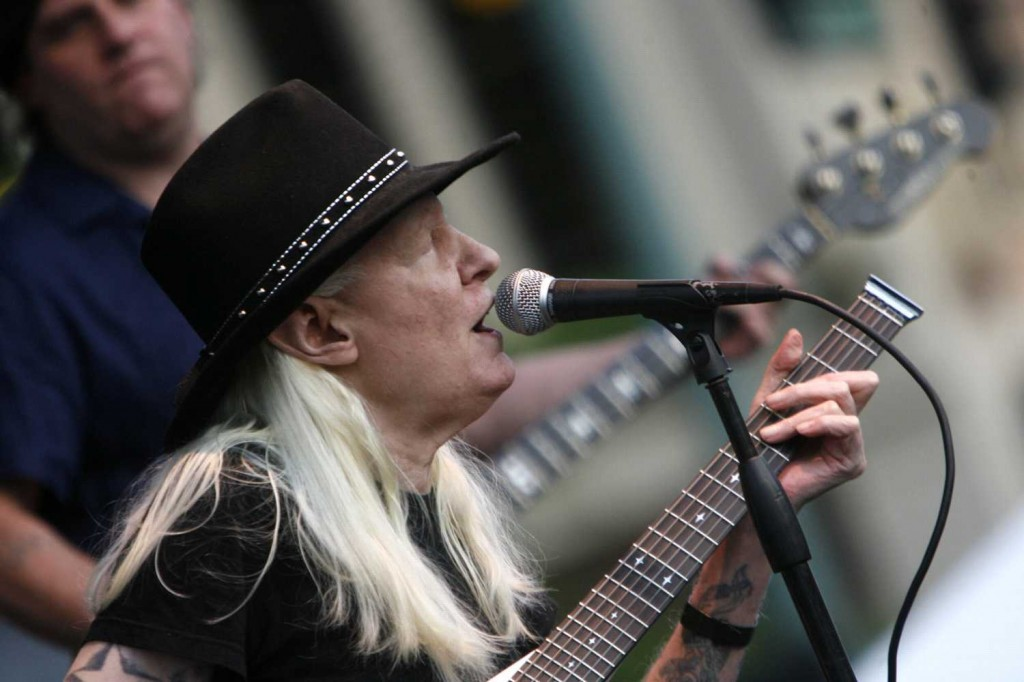 Blues legend Johnny Winter dies at 70