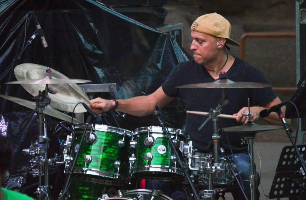 Drummer and leader Dave Watts believes The Motet finally has found the right lineup. (Alan Crandall)