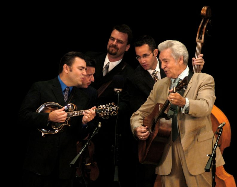 Bluegrass icon Del McCoury playing rare Woody Guthrie tunes