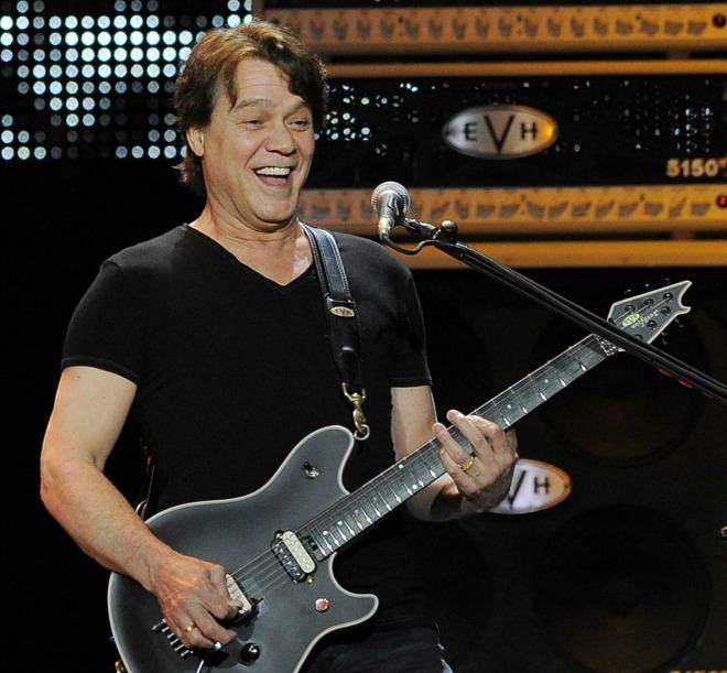 Guitar hero Eddie Van Halen talks about his roots, music innovations