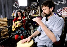 Dave McGraw & Mandy Fer perform an untitled song