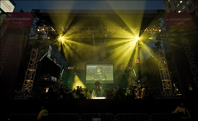 """The Legend of Zelda — 25th Anniversary Arrangement"" is among the crowd favorites during the ""Video Games Live"" touring production. (Courtesy photo)"