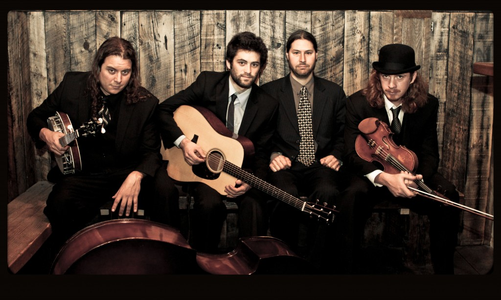 Henhouse Prowlers spreading the bluegrass love