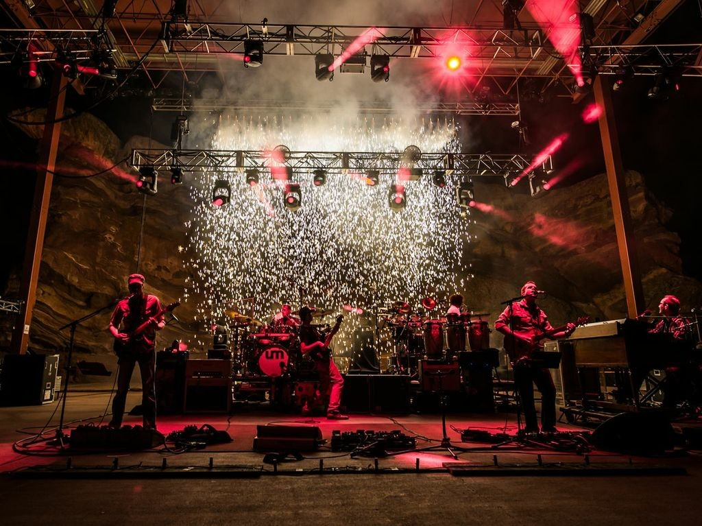 Chicago jammers Umphrey's McGee plays an intimate, sold-out show at the Boulder Theater on Thursday night and will return to Colorado's famed Red Rocks on Friday night. (Courtesy photo)