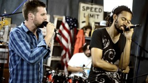 """Flobots, an activist hip-hop group from Denver, is working to create a local collaborative atmosphere of protest music through """"No Enemies."""" (Paul Aiken / Staff Photographer)"""