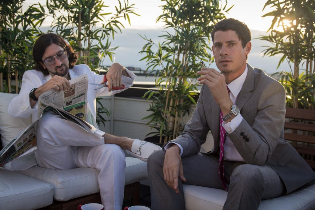 Big Gigantic — Jeremy Salken, left, and Dominic Lalli — is preparing to play Red Rocks as part of the band's fourth annual Rowdytown. (MSO PR / Courtesy photo)