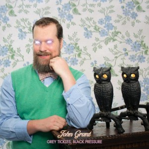 "The cover of John Grant's new album, ""Grey Tickles, Black Pressure.""  (Associated Press, Partisan Records)"
