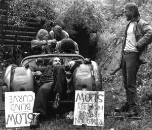 Magic Music kicks back in this 1974 photo. (Chris Daniels / Courtesy photo)