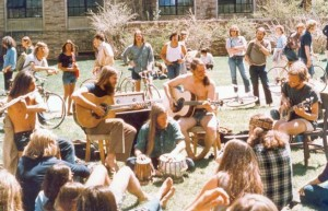 Magic Music performs on the University of Colorado-Boulder campus in 1972. (Magic Music Movie LLC / Courtesy photo)