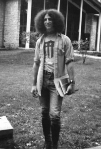 "Lee Aronsohn, co-creator of the hit TV show ""Two and a Half Men,"" is shown in 1972 when he was a University of Colorado student. (Magic Music LLC / Courtesy photo)"