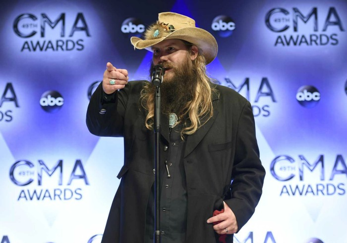 Chris Stapleton, Little Big Town shine at Country Music Awards