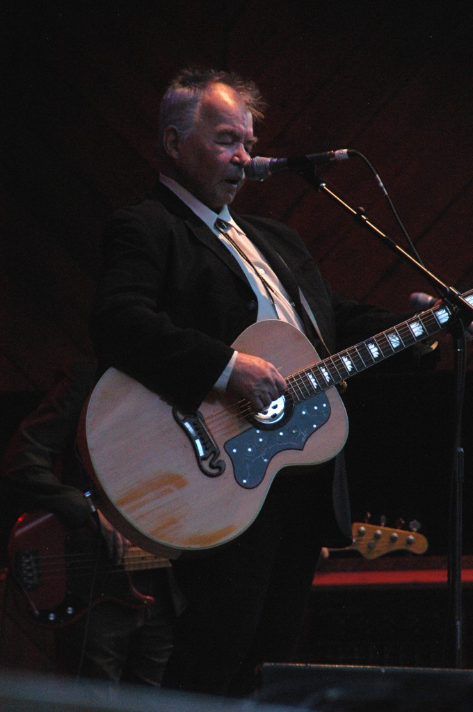 Veteran songwriter John Prine performs at the 2012 Telluride Bluegrass Festival. (Hans Lehndorff / Courtesy photo)