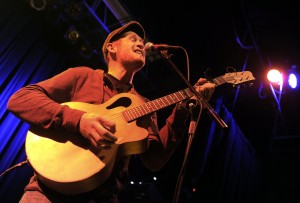 Jeff Brinkman, of Longmont, sings while performing at the Boulder Brew and Music Festival on Saturday, Nov. 5, 2011