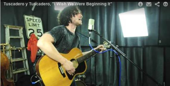 Tuscadero y Tuscadero perform 'I Wish We Were Beginning It'