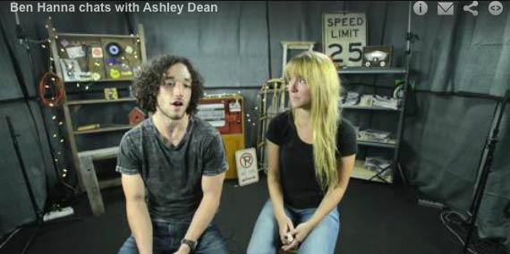Ben Hanna of Tuscadero y Tuscadero chats with Ashley Dean