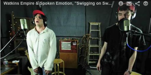 Watkins Empire & Spoken Emotion perform 'Swigging on Swag'