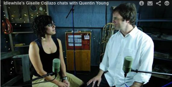 Idlewhile's Giselle Collazo chats with Quentin Young