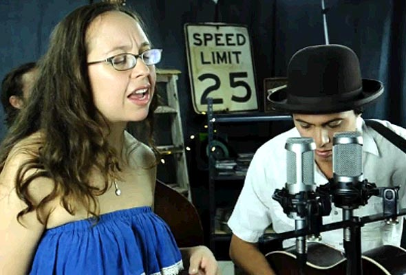 "Second Story Garage: Mike + Ruthy perform ""Oh, Mama"""