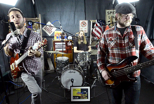 Second Story Garage: The Whales perform 'Younger Then'