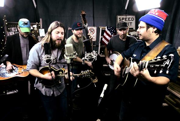 Second Story Garage: Greensky Bluegrass