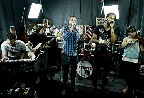 Flobots perform 'Occupyearth'