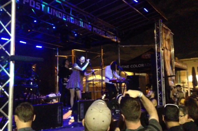 Cults at the UMS Main Stage.