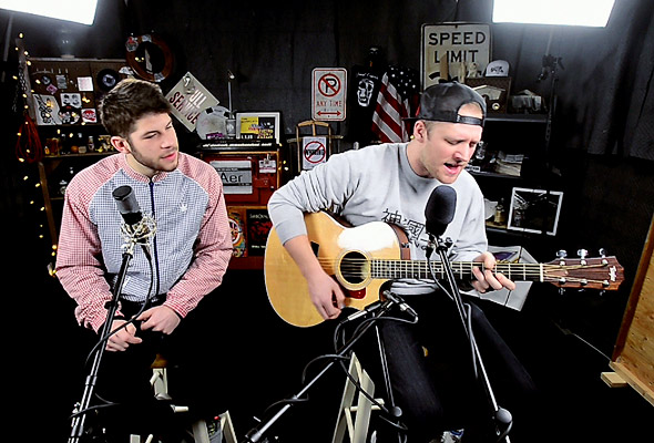 Aer perform 'Spades, Clubs & Diamonds'