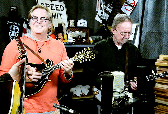 John Jorgenson Bluegrass Band perform 'Die Trying'