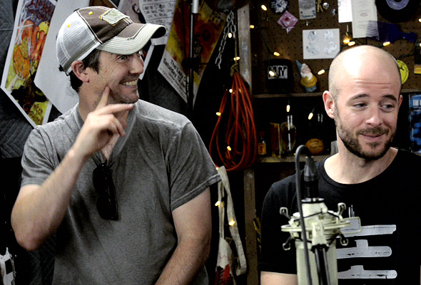 Yonder Mountain String Band chat with Quentin Young