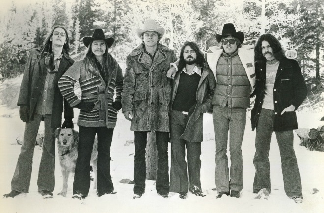 Firefall, shown in an undated photo, included, from left, Larry Burnett, Jock Bartley, Mark Andes, Rick Roberts, Michael Clarke and David Muse. (Colorado Music Hall of Fame / Courtesy photo)