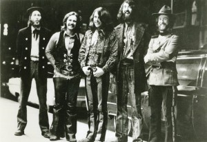 The Nitty Gritty Dirt Band, in  this undated photo, included, from left, Jimmie Fadden, Jeff Hanna, Jimmy Ibbotson, John McEuen and Les Thompson.  (Colorado Music Hall of Fame / Courtesy photo)