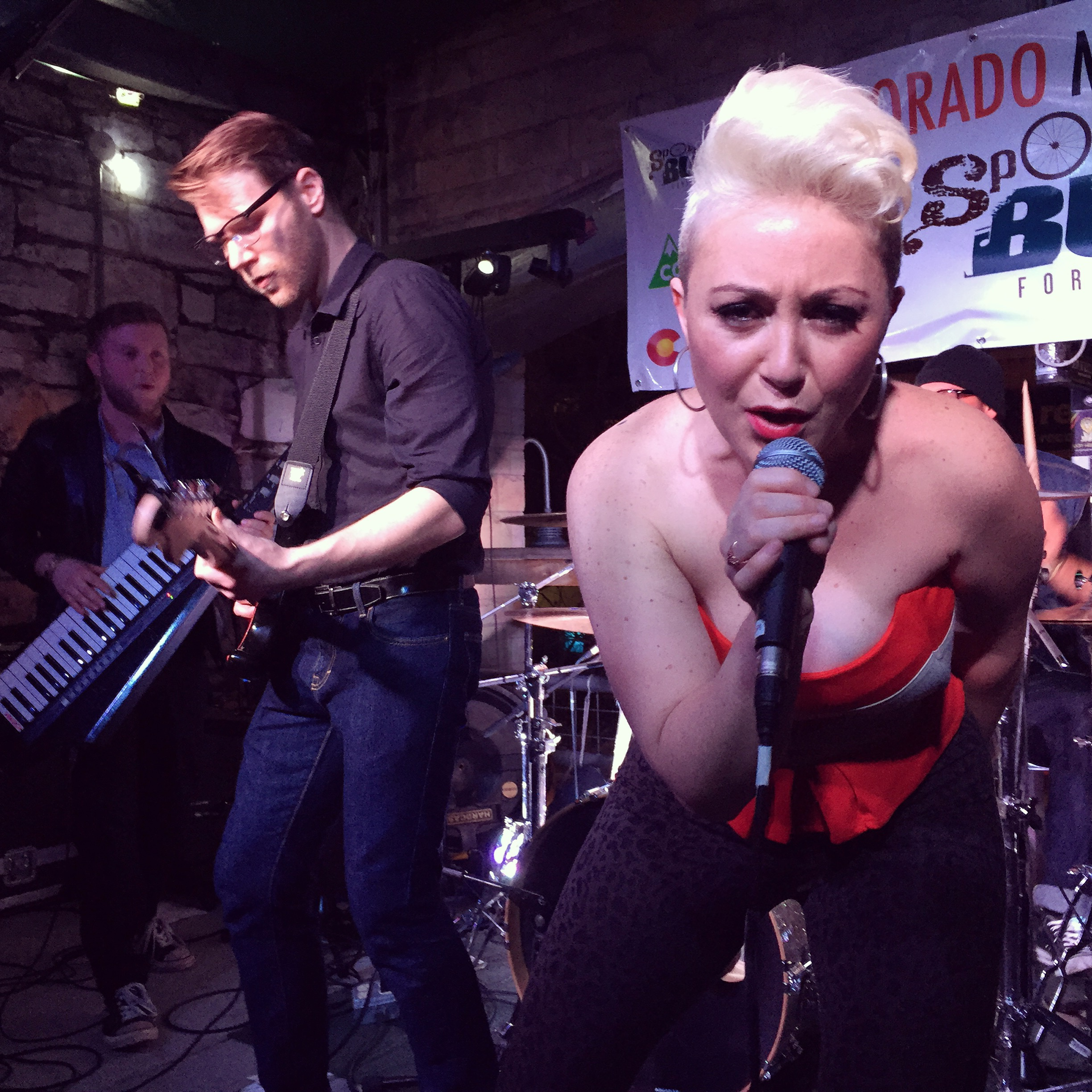 Lyndsay Evans and Sexy Ester performed at the Colorado Music Party during SXSW 2015. Photo by Quentin Young