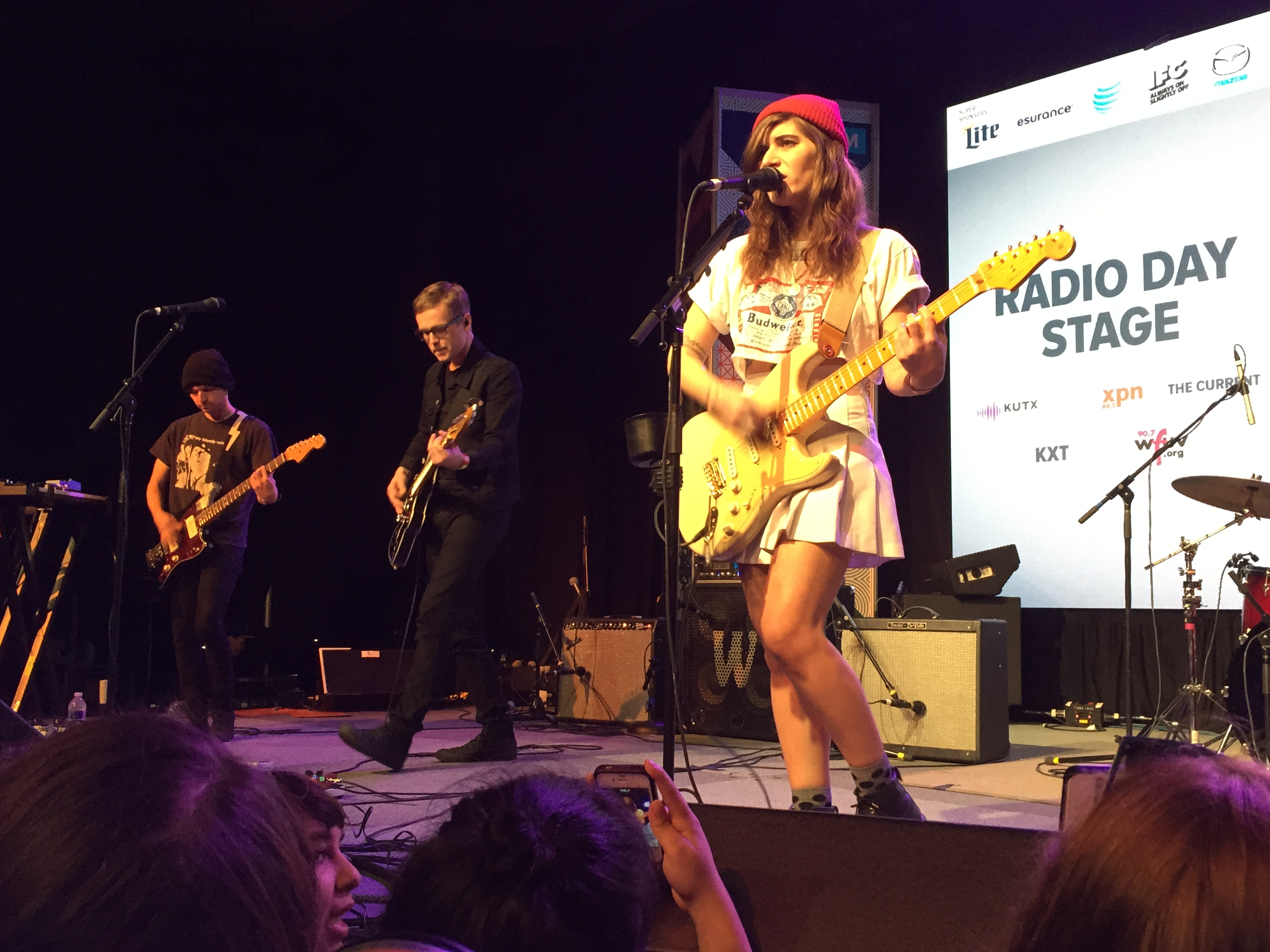 Best Coast performed on Friday, March 20, 2015 at the Austin Convention Center during SXSW. Photo by Quentin Young