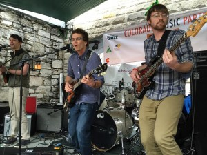 Rocktin Grove performs during a mini-showcase of Boulder musicians at the Colorado Music Party during South By Southwest music festival on Saturday in Austin, Texas. (Quentin Young / Staff Photo)