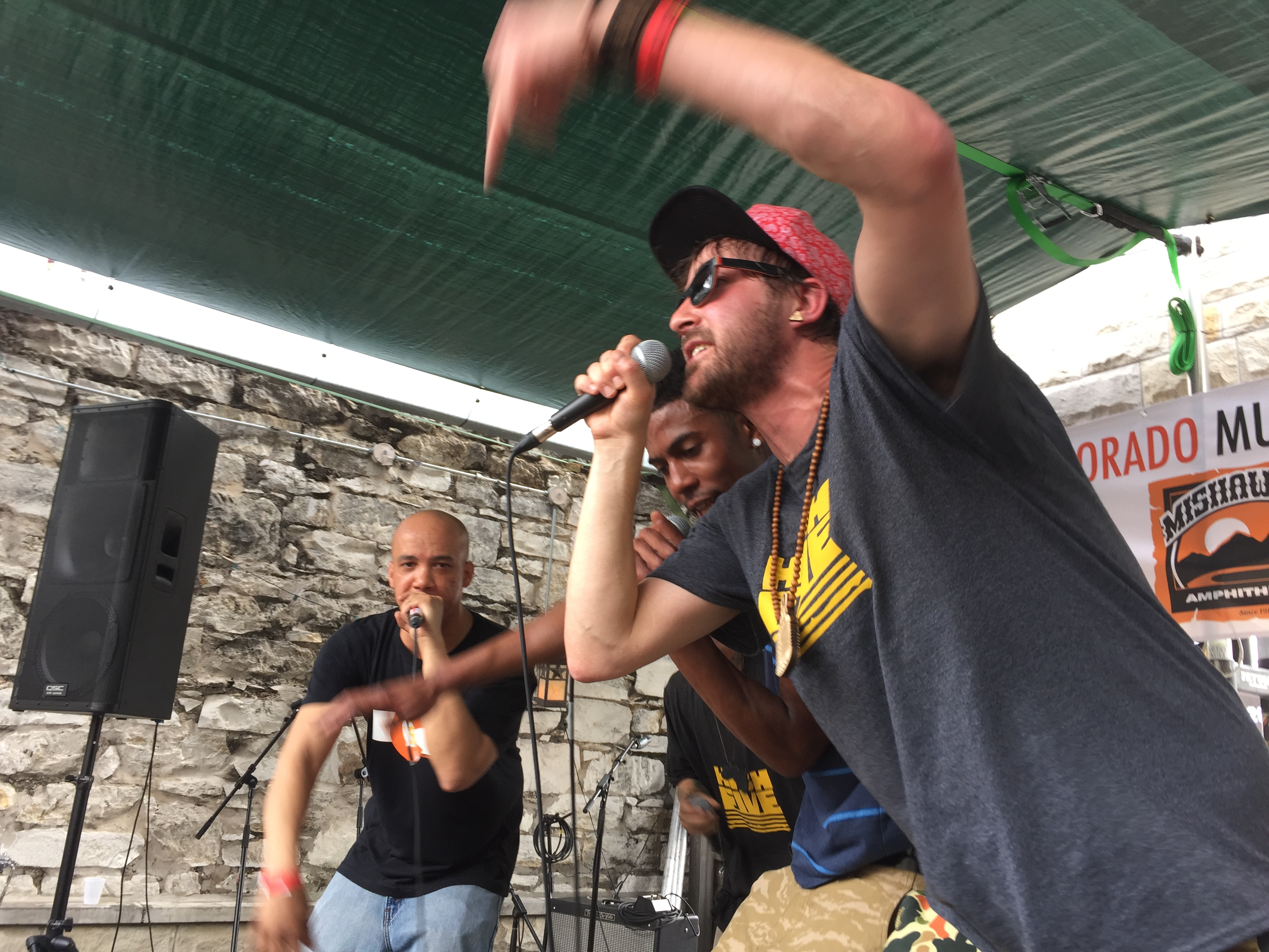 High Five Hip Hop was one of more than a dozen artists that performed as part of a hip hop showcase at the Colorado Music Party during SXSW 2015. Photo by Quentin Young