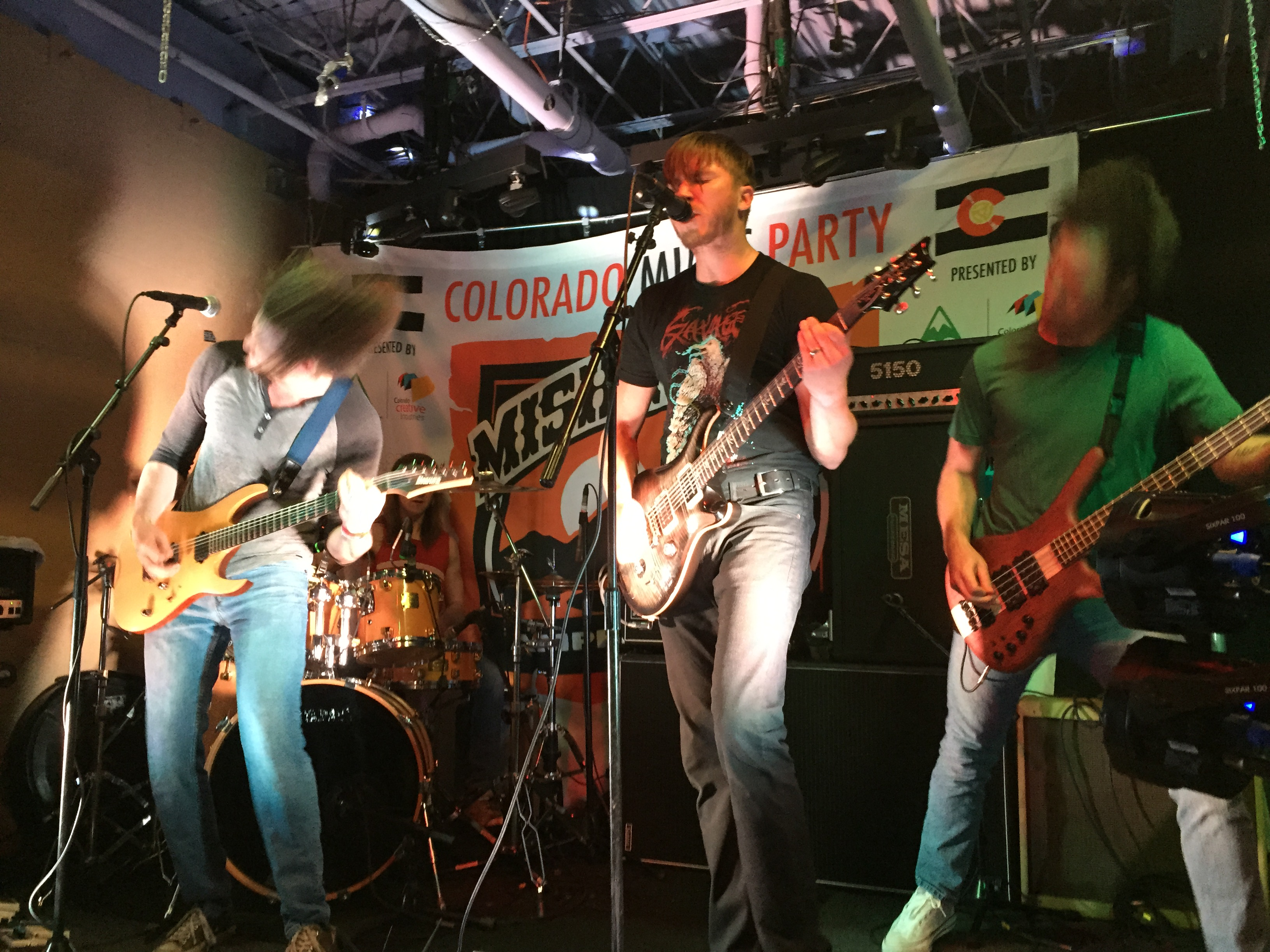 No Fair Fights perform at the Colorado Music Party during SXSW 2015 in Austin, Texas. Photo by Quentin Young