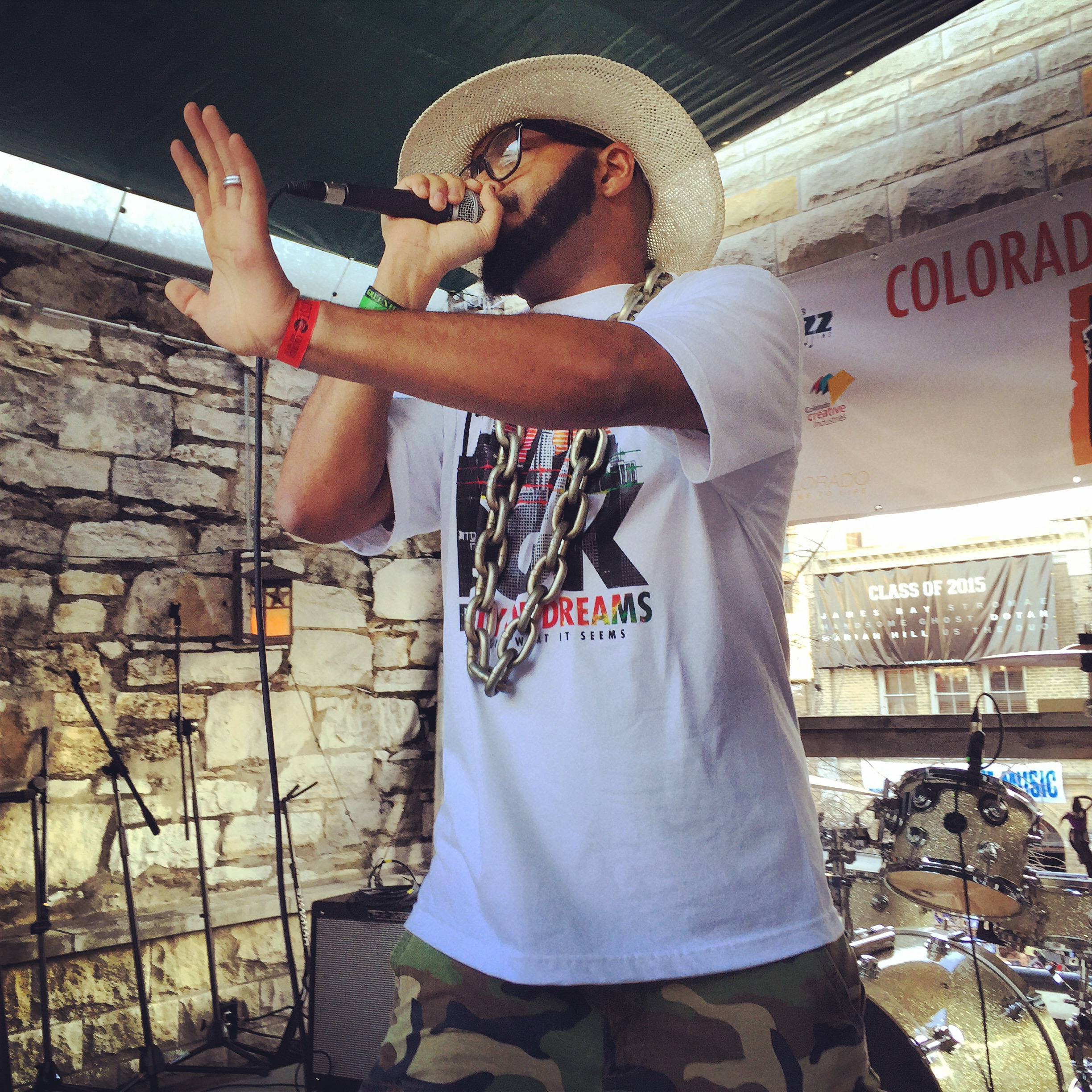 Denver rapper SarCa$t performed at the Colorado Music Party during SXSW 2015. Photo by Quentin Young
