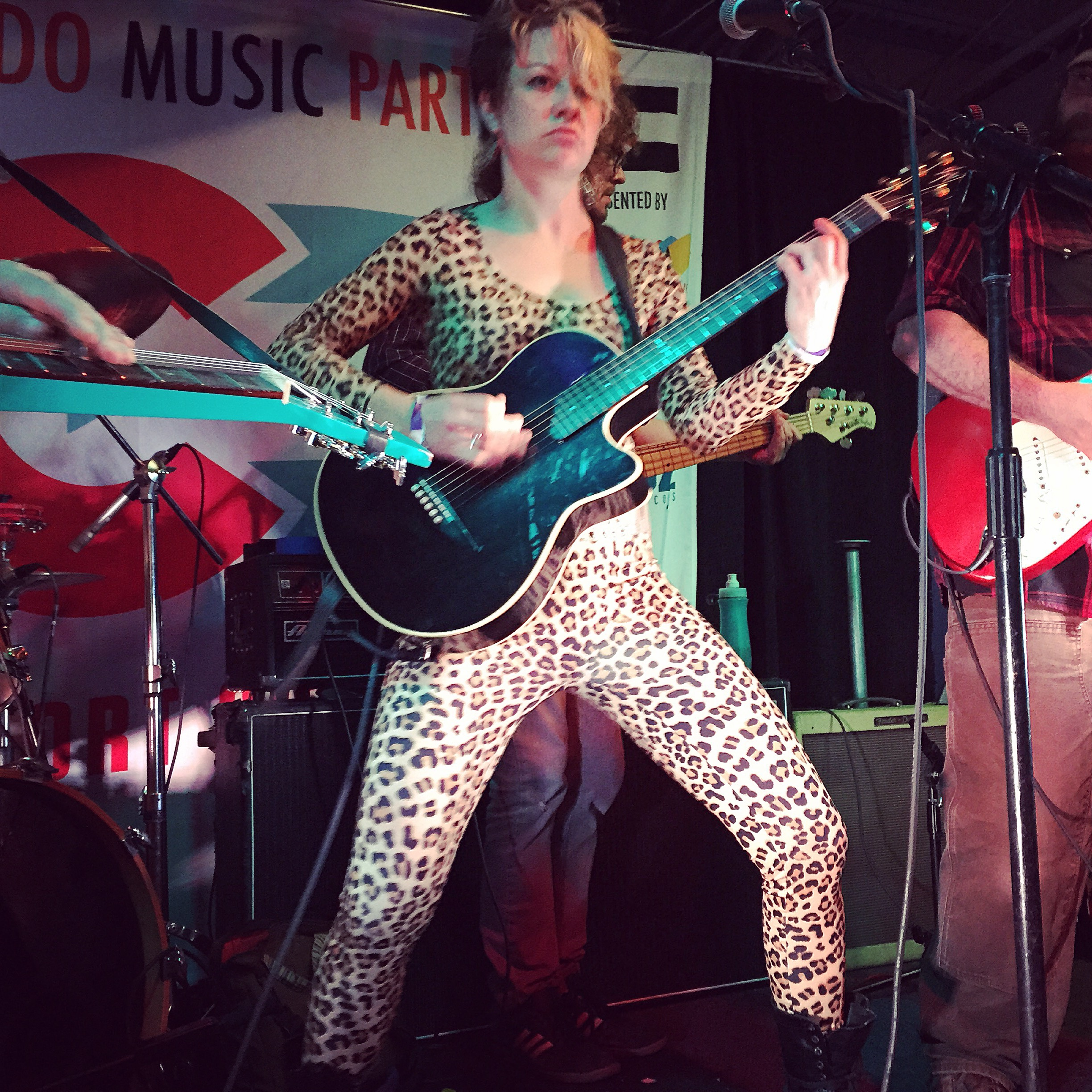 The Patti Fiasco performed at Colorado Music Party during SXSW 2015. Photo by Quentin Young