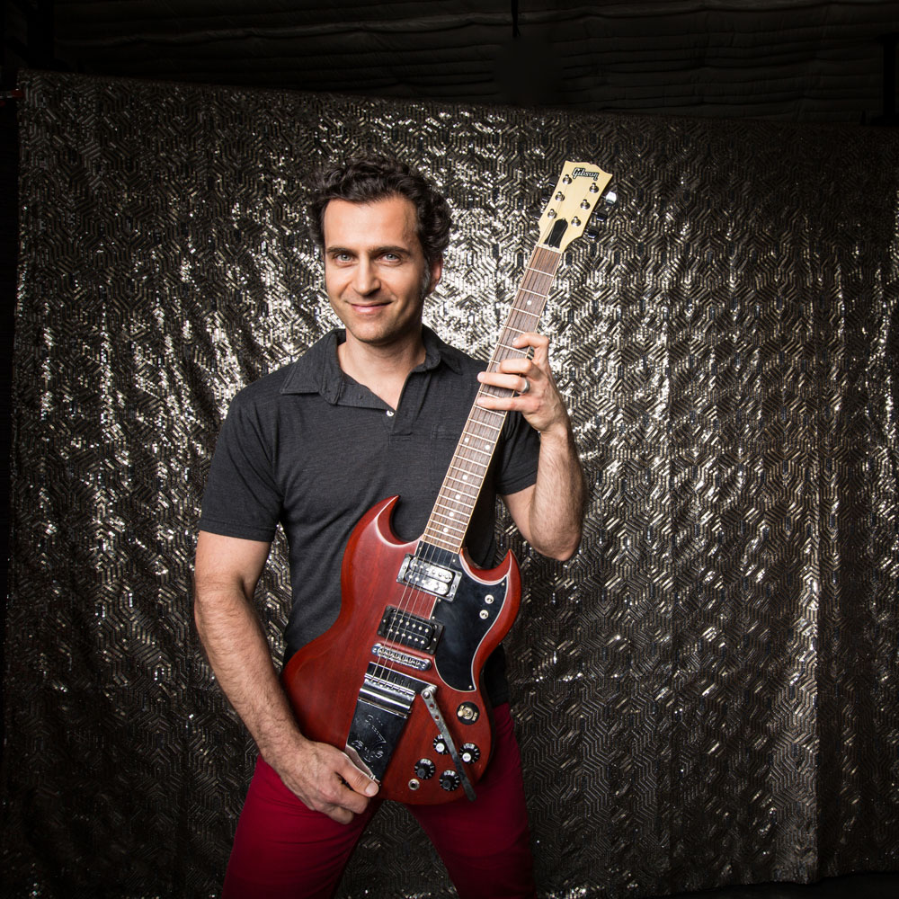 Zappa Plays Zappa featuring Dweezil Zappa performs the music of Frank Zappa on Thursday, April 23, at Boettcher Concert Hall in Denver.