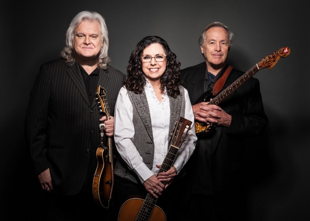 Ricky Skaggs, left, Sharon White and Ry Cooder will play Chautauqua Auditorium in Boulder on June 19 and the Denver Botanic Gardens on June 22.  (Absolute Publicity / Courtesy photo)
