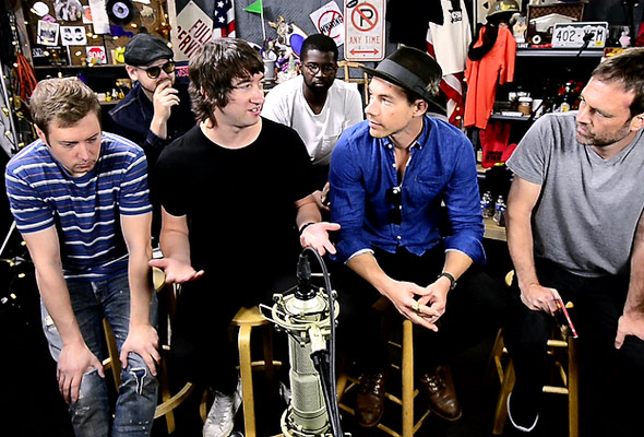 Plain White T's chat with Quentin Young