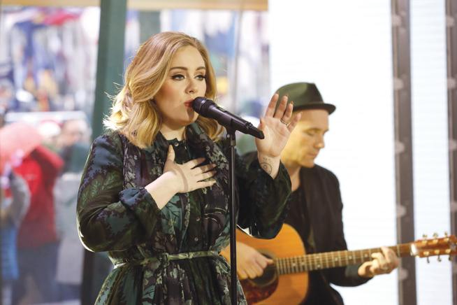 Did Adele give us a preview of her North American tour?